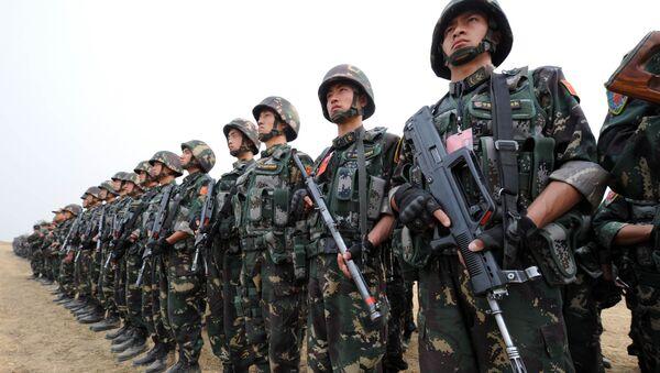 Militares chinos (imagen referencial) - Sputnik Mundo