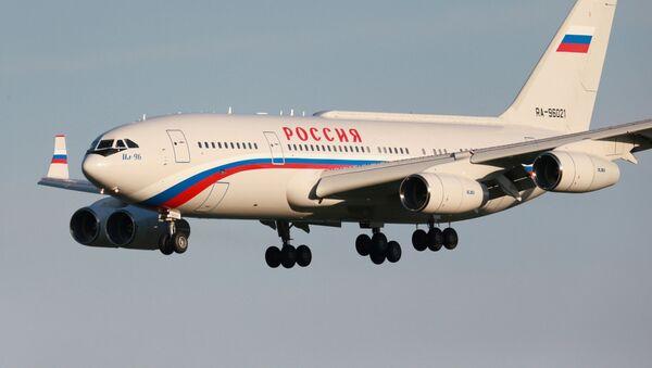 El avión del presidente de Rusia, Vladímir Putin - Sputnik Mundo