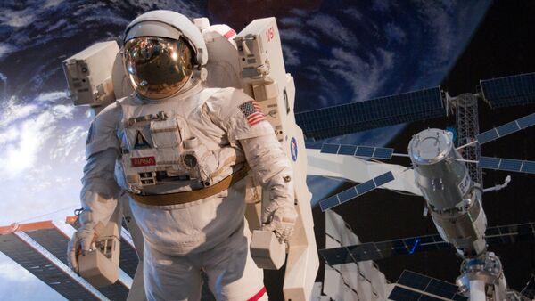 Astronauta (imagen referencial) - Sputnik Mundo