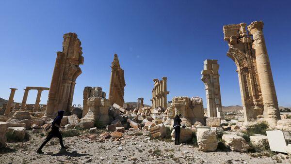 Palmira, Siria - Sputnik Mundo