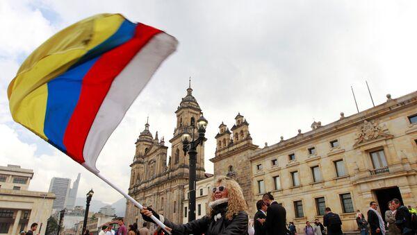 Manifestación en Colombia - Sputnik Mundo