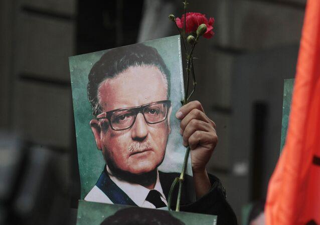 Salvador Allende, expresidente de Chile (1970-1973)