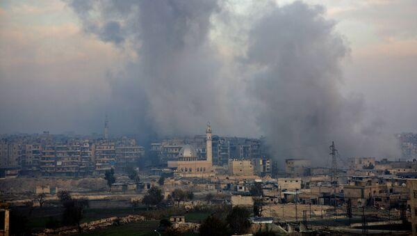 El distrito Bustan al-Qasr en Alepo - Sputnik Mundo
