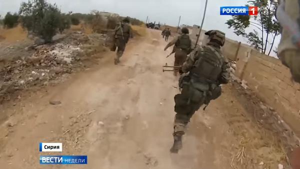 Así actúan las Fuerzas Especiales rusas en Siria - Sputnik Mundo