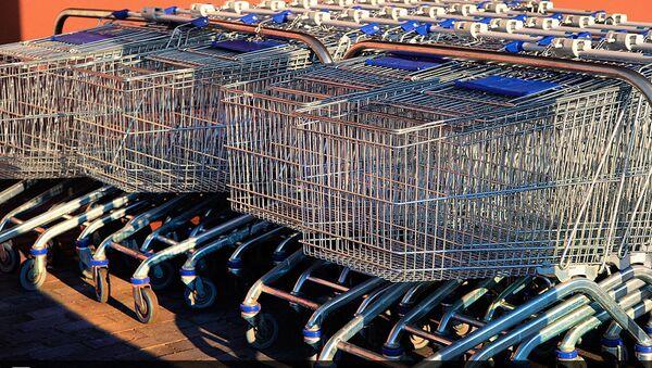 Los carritos de la compra (imagen referencial) - Sputnik Mundo