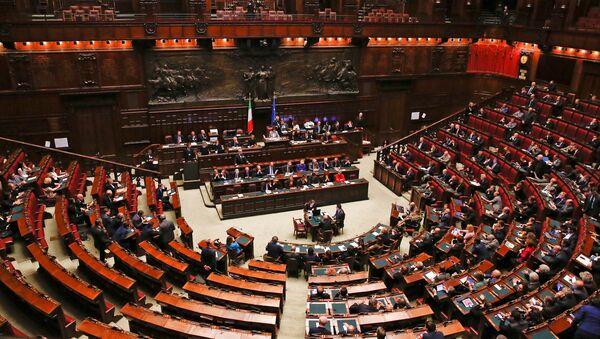 La Cámara de Diputados de Italia da luz verde al Gobierno de Gentiloni - Sputnik Mundo