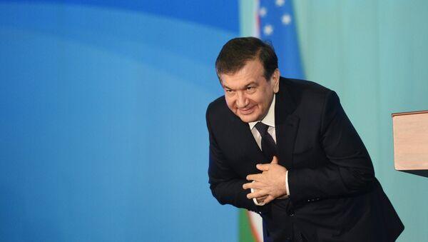 Shavkat Mirziyoyev, presidente de Uzbekistán - Sputnik Mundo