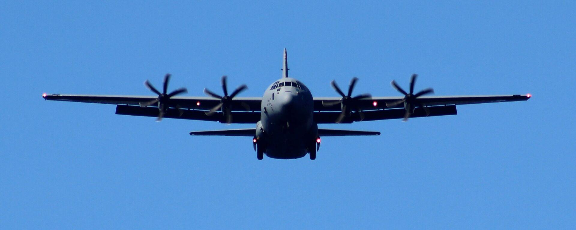 USAF Lockheed C-130J Hercules - Sputnik Mundo, 1920, 09.07.2021