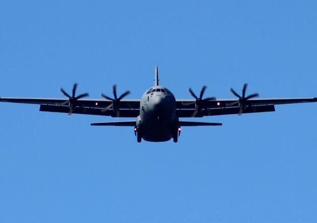 Un Lockheed C-130 Hercules (imagen referencial)