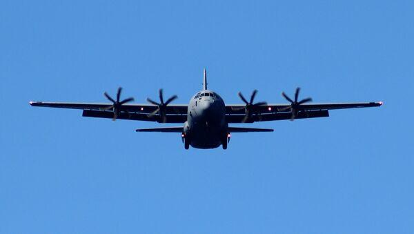 USAF Lockheed C-130J Hercules - Sputnik Mundo