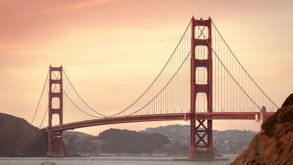 Puente Golden Gate en California, EEUU (archivo) - Sputnik Mundo