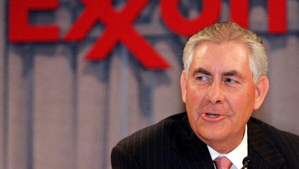 Rex Tillerson, nominado para secretario de Estado del próximo gobierno de EEUU - Sputnik Mundo