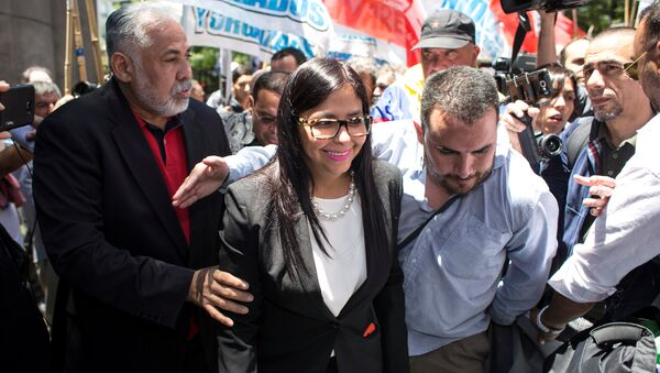 Delcy Rodríguez, canciller de Venezuela - Sputnik Mundo