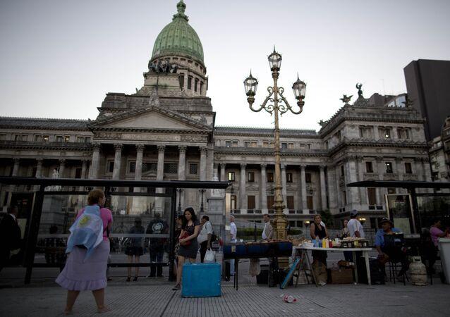 El edificio del Senado de Argentina
