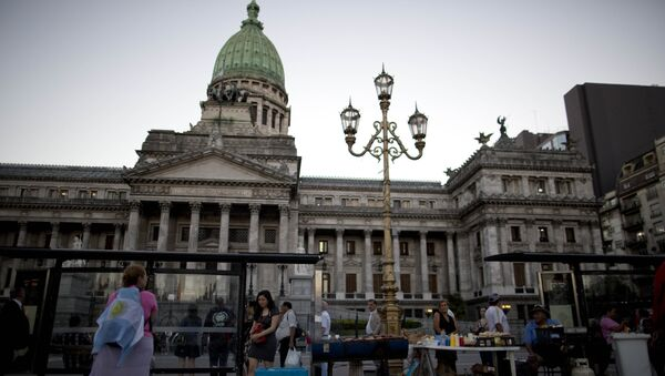 Senado de Argentina, Buenos Aires - Sputnik Mundo