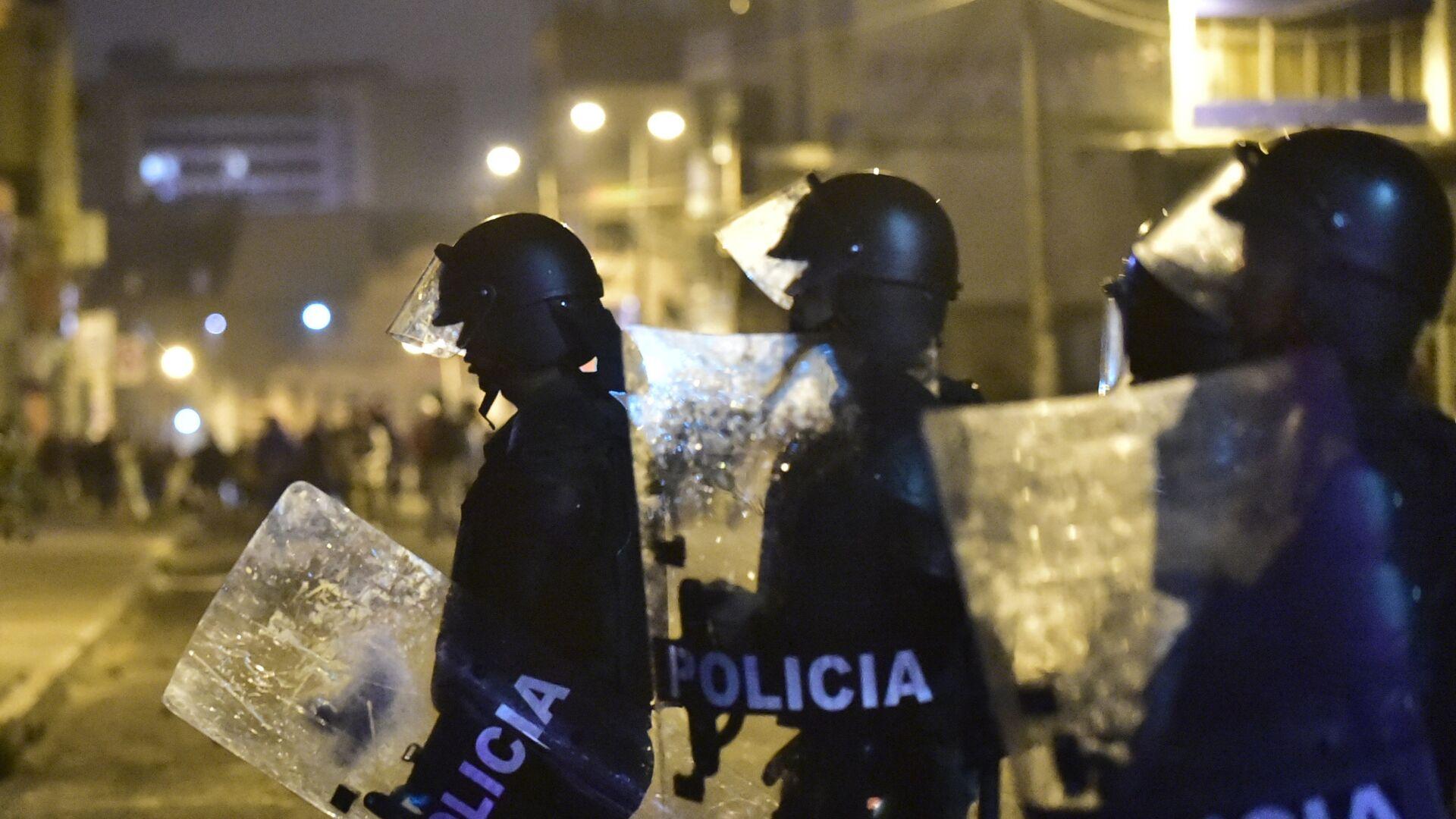 Policía de Ecuador - Sputnik Mundo, 1920, 03.03.2021