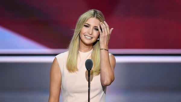 La hija del presidente de Estados Unidos, Ivanka Trump - Sputnik Mundo