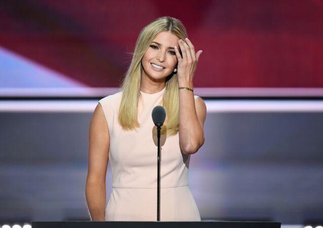 Ivanka Trump, hija y asesora del presidente de EEUU (archivo)