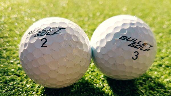 Pelotas de golf - Sputnik Mundo