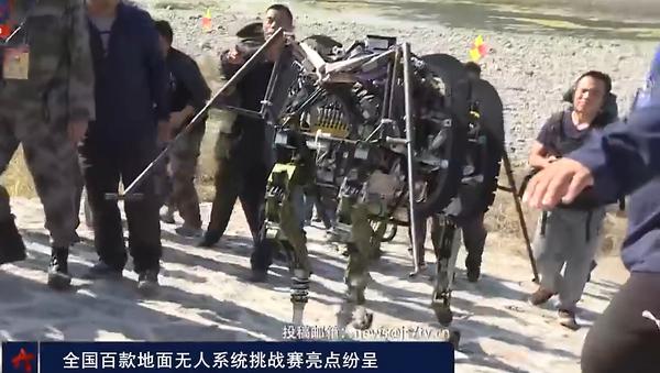 Las bestias robots chinas de combate - Sputnik Mundo