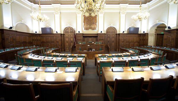 La Saeima, el Parlamento de Letonia - Sputnik Mundo