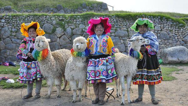 Mujeres quechua en Perú - Sputnik Mundo