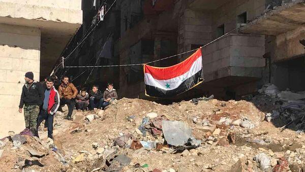 La situación en la ciudad siria de Alepo (archivo) - Sputnik Mundo