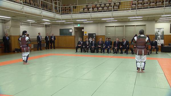 Japón: Putin y Abe disfrutan de exhibición de judo en Tokio - Sputnik Mundo