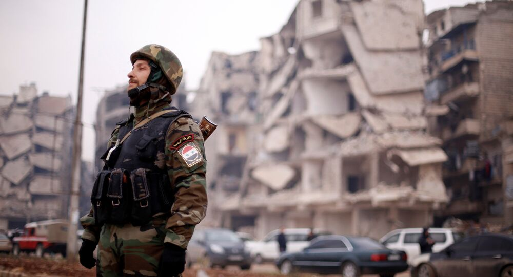 Soldado sirio (archivo)