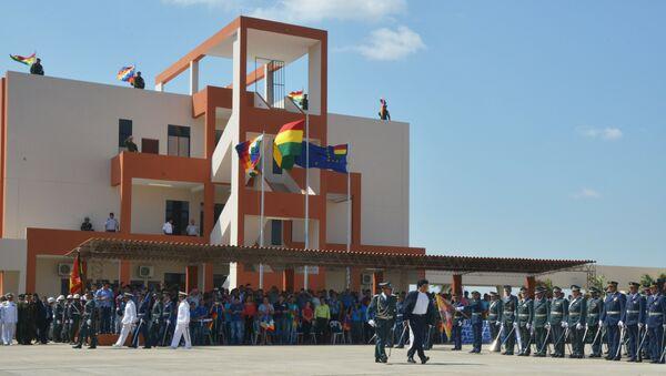 La escuela militar antiimperialista en la provincia de Santa Cruz, Bolivia - Sputnik Mundo
