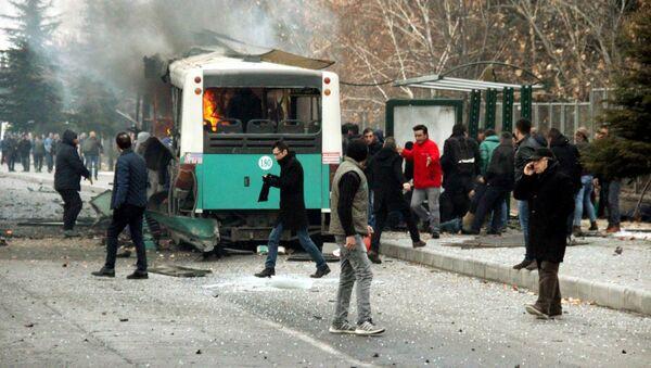 Explosión en la ciudad turca de Kayseri - Sputnik Mundo