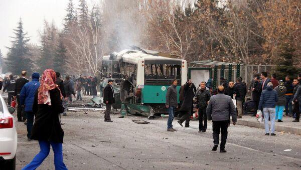 Explosión en la ciudad turca Kayseri - Sputnik Mundo