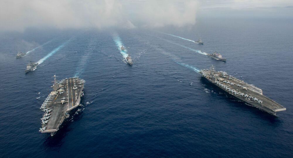 Los buques de la Armada de EEUU