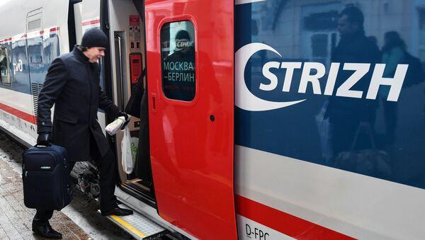 El primer tren Strizh (Vencejo) - Sputnik Mundo