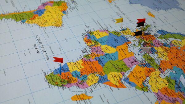 Mapa del mundo - Sputnik Mundo