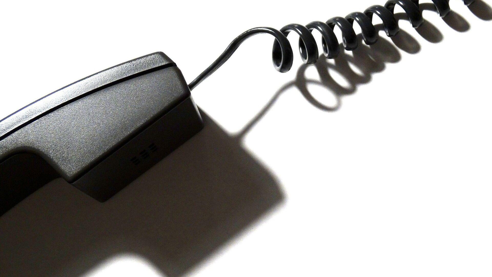 Teléfono con cable - Sputnik Mundo, 1920, 15.08.2021