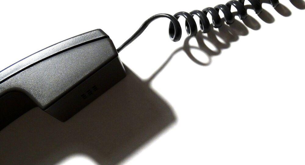 Teléfono con cable