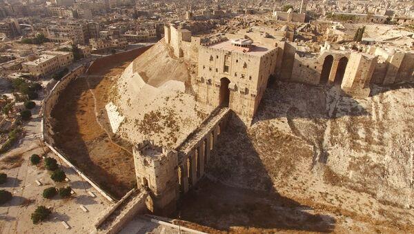 La ciudadela de Alepo - Sputnik Mundo