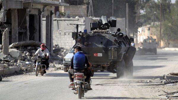 Las fuerzas turcas en Siria - Sputnik Mundo