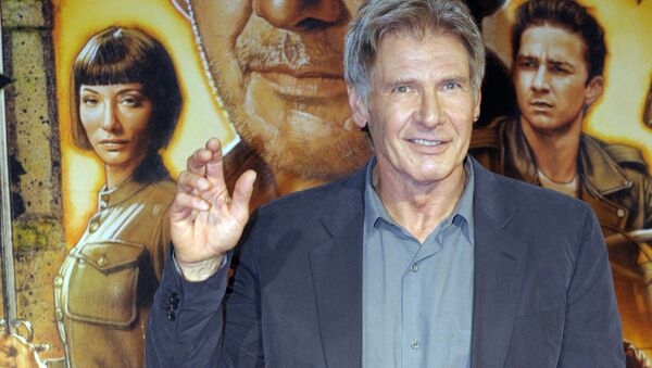 Harrison Ford, actor que interpretó el papel de Indiana Jones - Sputnik Mundo