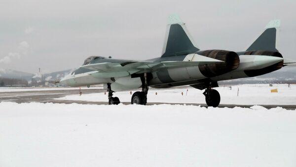 Caza ruso PAK FA (T-50) - Sputnik Mundo