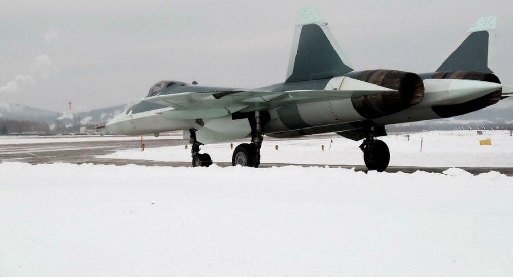 Caza ruso PAK FA (T-50)