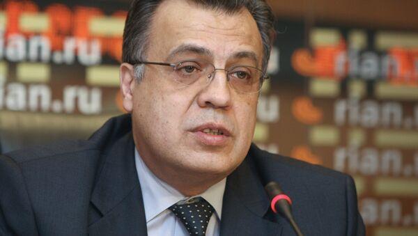 Andréi Kárlov, embajador de Rusia en Turquía (archivo) - Sputnik Mundo