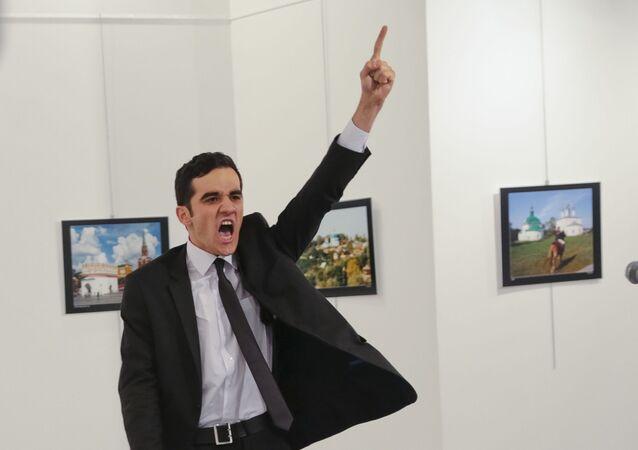 Mevlut Altintas, asesino del embajador ruso en Turquía