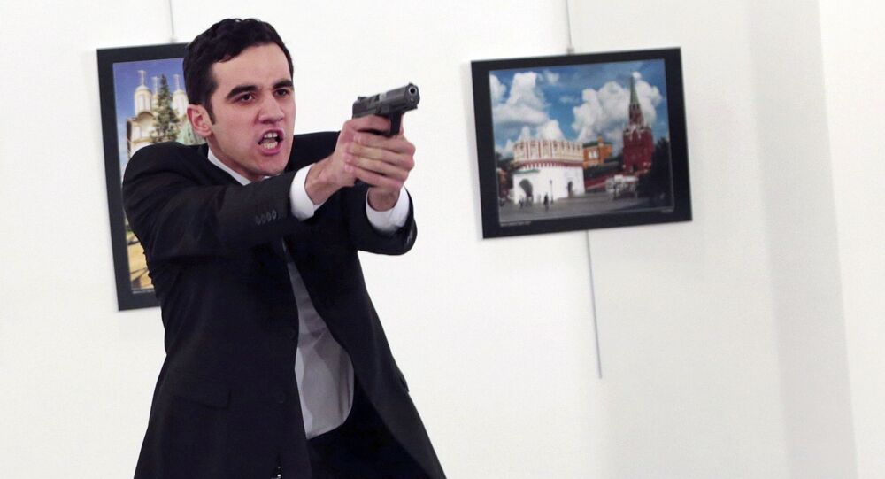 Mevlut Altintas, asesino del embajador ruso en Turquía (Archivo)