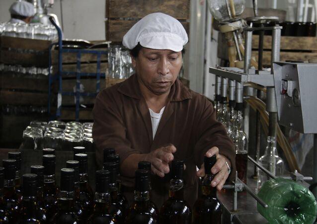 La producción de la sidra