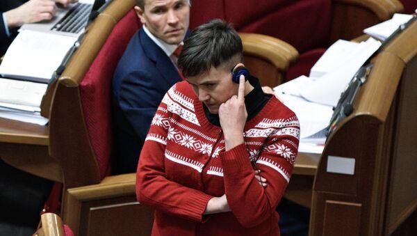Nadezhda Sávchenko, diputada ucraniana - Sputnik Mundo