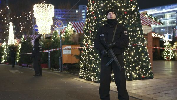 Un policía alemán - Sputnik Mundo
