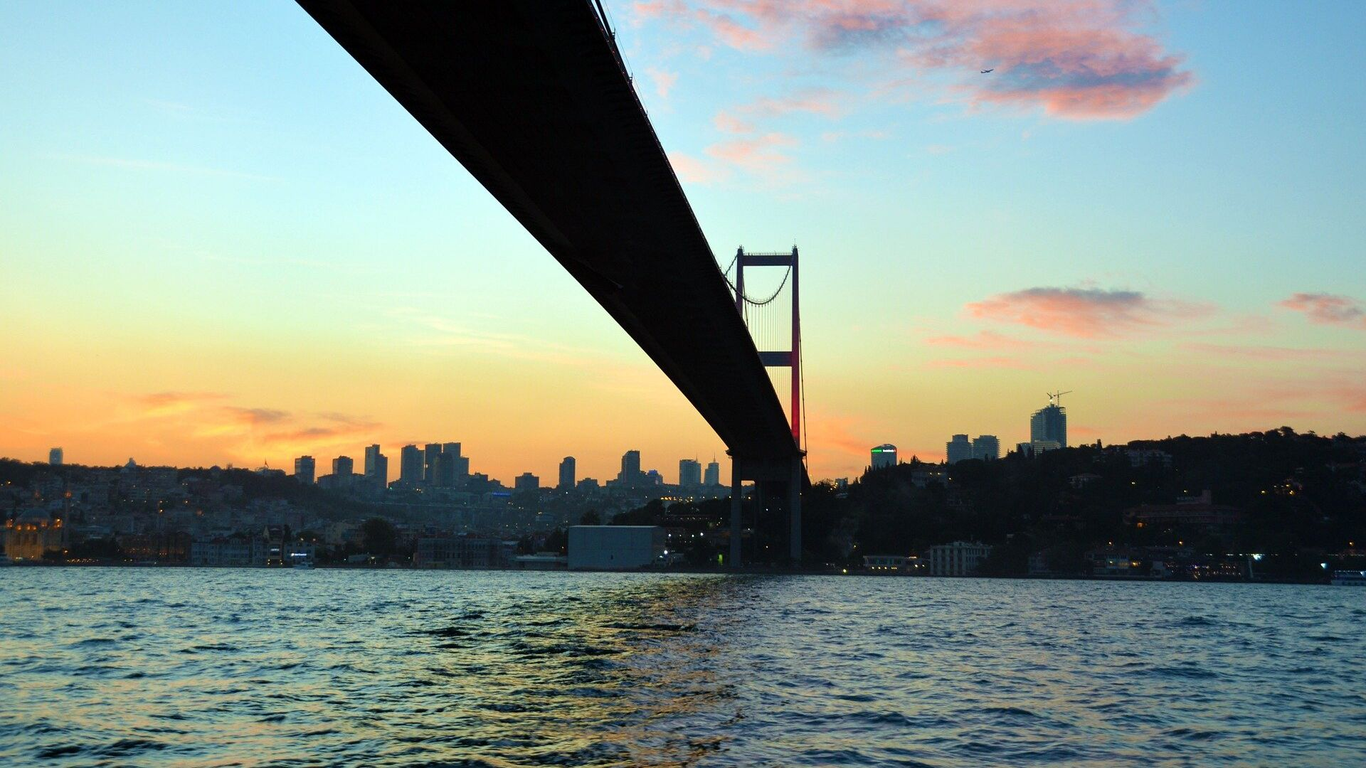 El estrecho de Bósforo en Estambul - Sputnik Mundo, 1920, 15.04.2021