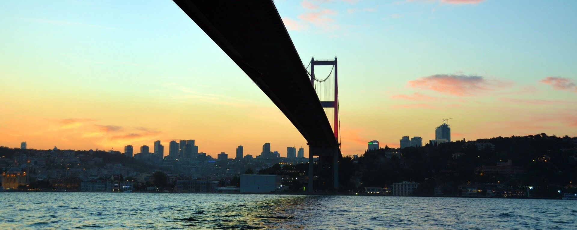 El estrecho de Bósforo en Estambul - Sputnik Mundo, 1920, 28.05.2021